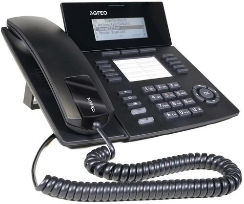 Agfeo Systemtelefon schwarz ST 53 SENSORfon sw