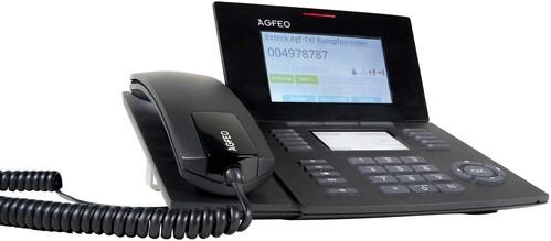 Agfeo Systemtelefon schwarz ST 56 SENSORfon sw