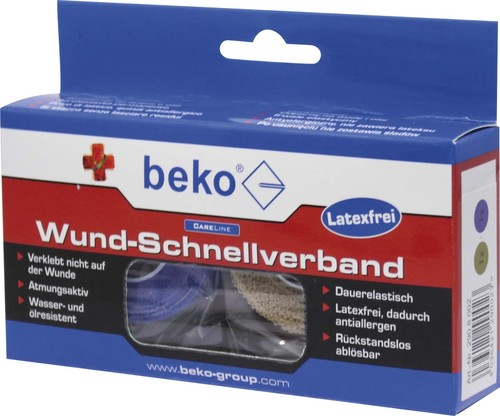 Beko Wund-Schnellverband Box 2 Rollen a 4,50m 2908002