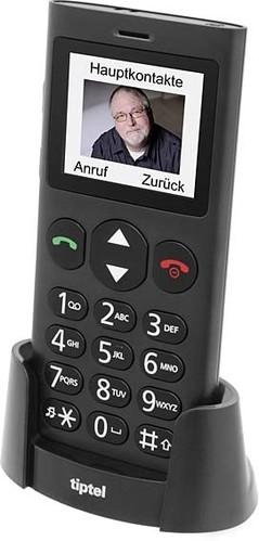 Tiptel Mobiltelefon schwarz Ergophone 6260 GSM