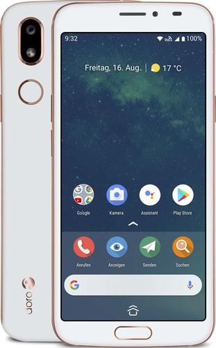 "swisstone GSM-Mobiltelefon 5,7"" Touchscreen Doro 8080 weiß"