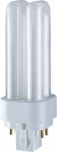 Osram LAMPE Kompaktleuchtstofflampe DULUX D/E13W/840