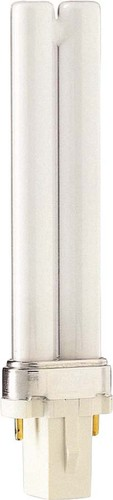 Philips Lighting Kompaktleuchtstofflampe 7W G23 wws PL-S 7W/830/2P