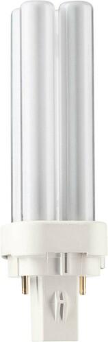 Philips Lighting Kompaktleuchtstofflampe 10W G24d-1 wws PL-C 10W/830/2p