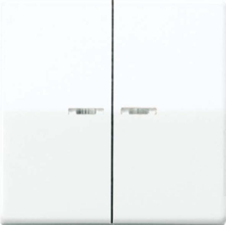 Jung Wippe Lichtleiter alpinweiß für Schalter/Taster AS 591-5 KO5BF WW