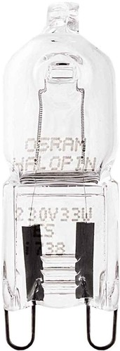 Osram LAMPE Halogenlampe HALOPIN ECO 33W 230V G9 66733 ECO