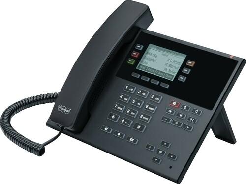 Auerswald SIP-Systemtelefon schwarz COMfortel D-110 sw