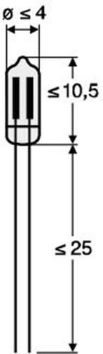 Scharnberger+Hasenbein Miniaturglimmlampe KG 100-10 31000