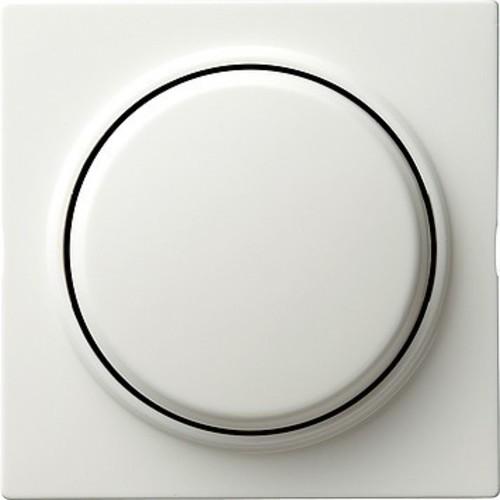Gira Dimmer-Abdeckung reinweiß S-Color 065040