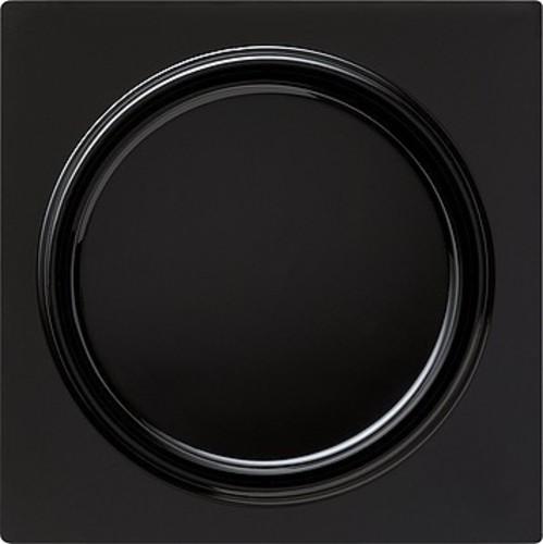 Gira Dimmer-Abdeckung schwarz S-Color 065047