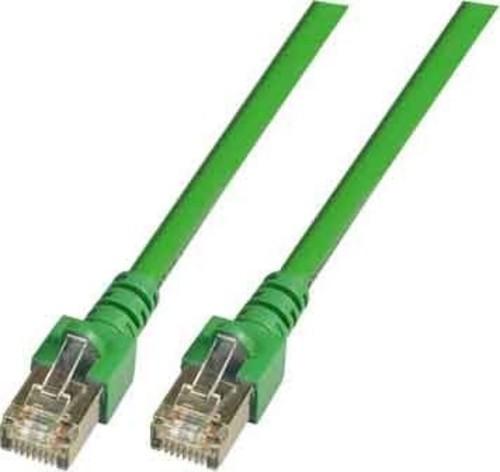 EFB-Elektronik Patchkabel Cat.5e 2xRJ45 mit SF/UTP EC5000 0,5m gnSF/UTP