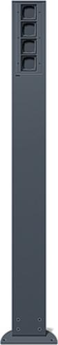 Gira Energiesäule anthrazit 135428