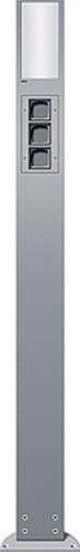 Gira Energiesäule aluminium 3xLeereinheit,1600mm 135326