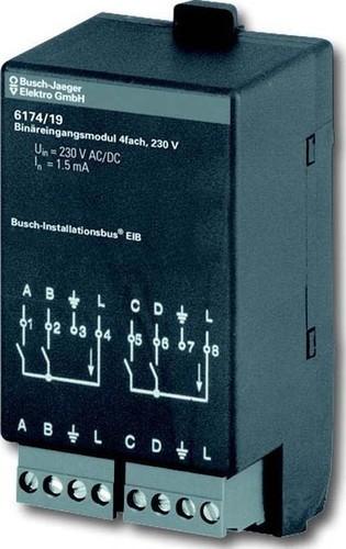 Busch-Jaeger Binäreingangsmodul 4-fach 6174/19