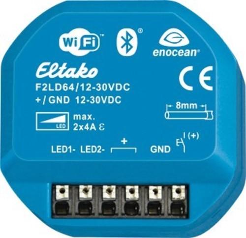 Eltako Funk-2-Kanal-LED-Dimmaktor F2LD64/12-30V-DC