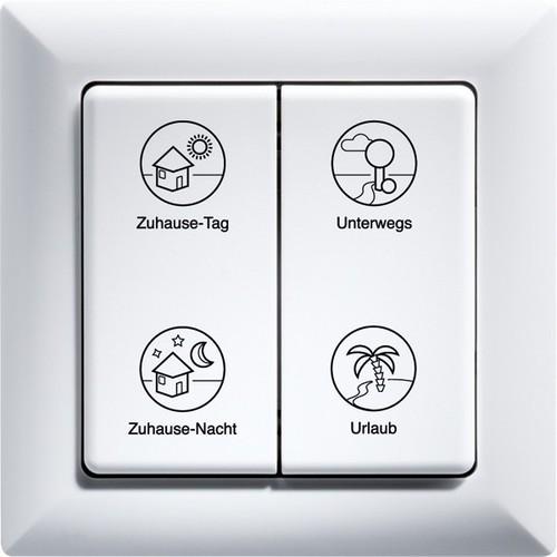 Eltako Tipp-Funk-Profiltaster flämisch F4PT55-fl