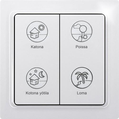 Eltako Funk-Profiltaster finnisch F4PT-fi