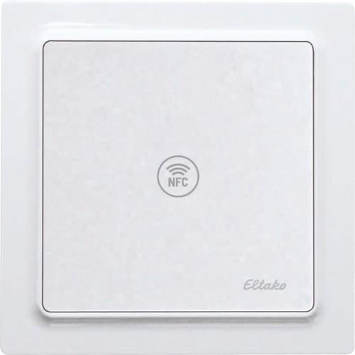 Eltako NFC-Sensor reinweiß glänzend NFCS55E-wg