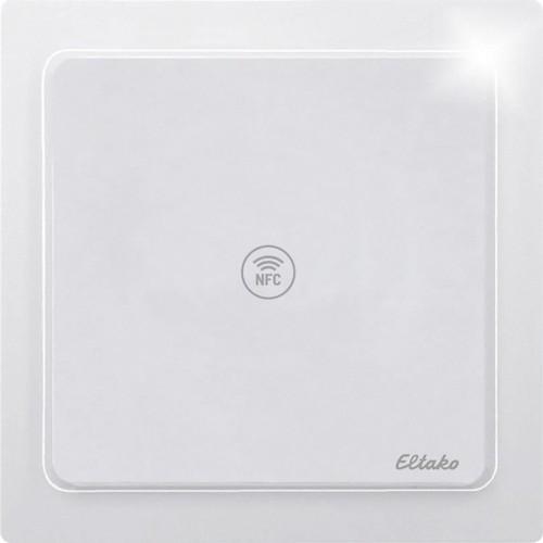 Eltako NFC-Sensor reinweiß glänzend NFCS65F-wg