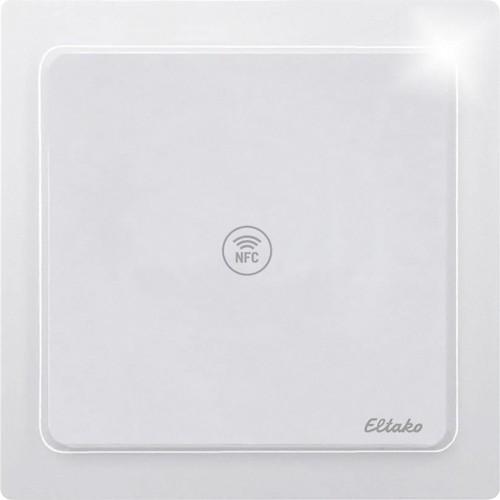 Eltako NFC-Sensor reinweiß glänzend NFCS65-wg