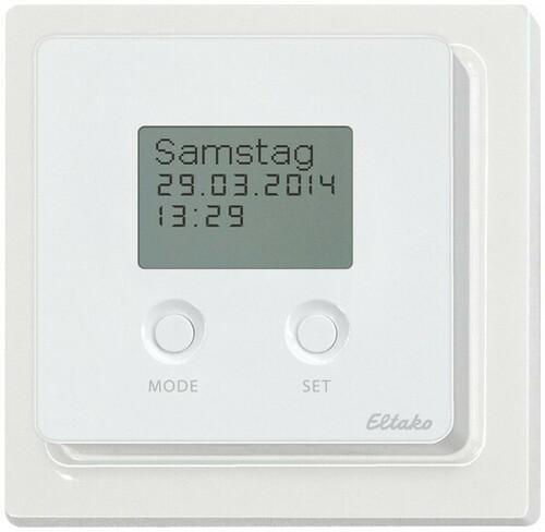 Eltako Funksensor Schaltuhr rws/glänz FSU65D/230V-wg