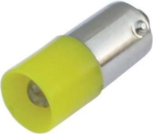 Scharnberger+Hasenbein Standard-LED 5mm 10x25mm 235V 3W Ba9s gelb 37406