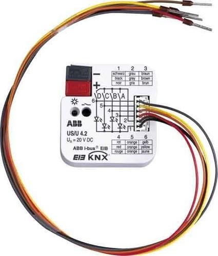 ABB Stotz S&J Universalschnittstelle 4-fach ch US/U4.2