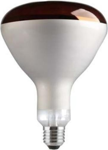 Scharnberger+Hasenbein Infrarot-Wärmestrahler E27 230V250W rotfilt 29509