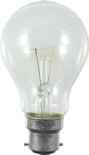 Scharnberger+Hasenbein Bahnlampe 60x105mm B22d 28V 40W klar 40977