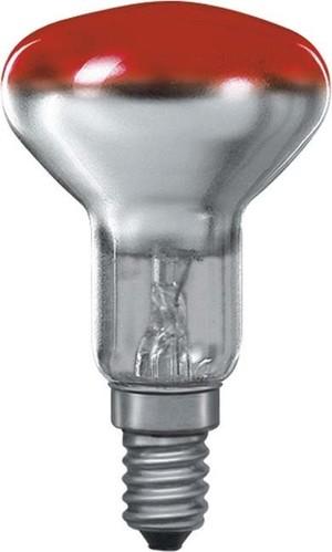 Scharnberger+Hasenbein Reflektorlampe 50x85mm R50 E14 230V 25W rot 41600