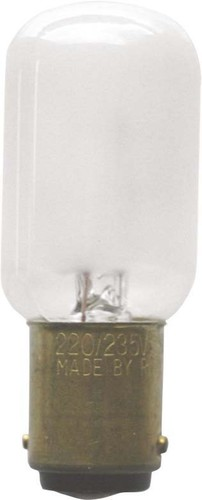 Scharnberger+Hasenbein Nählichtlampe 22x57mm B15d 235V 15W mAtt 48212