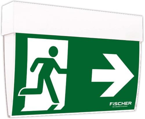 Fischer Rettungszeichenleuchte3/8h opt.Mesh/NB Add.on F1U383M
