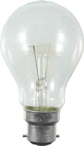 Scharnberger+Hasenbein Bahnlampe 60x105mm B22d/25 125-130V 40W 87003