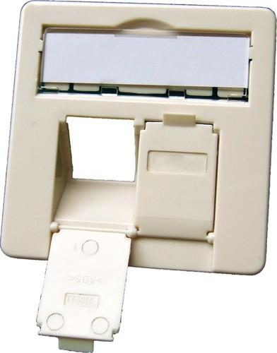 Setec Zentralplatte 2-fach reinweiß RAL9010 511024