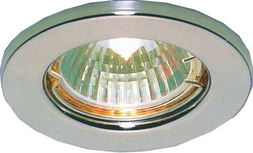 Scharnberger+Hasenbein EB-Strahler MR16/GX5,3 80mm starr chr/mt 53005