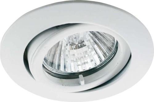Scharnberger+Hasenbein EB-Strahler MR16/GX5,3 85mm schwenkbar weiß 53067
