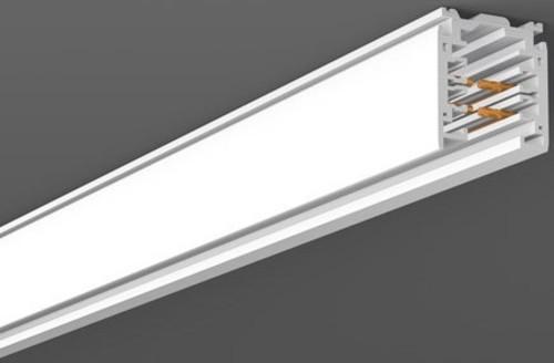 RZB 3Ph-Stromschiene weiß 1000mm DALI 701097.002