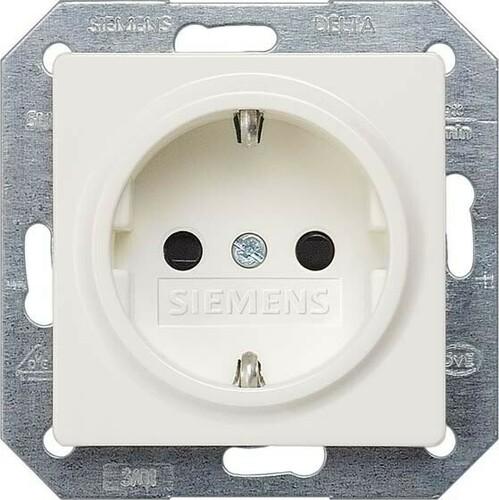 Siemens Indus.Sector Schuko-Dose Delta Plus, tws 5UB1518