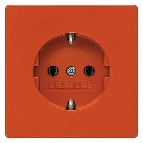 Siemens Indus.Sector Schuko-Steckdose Delta Style, orange 5UB1850