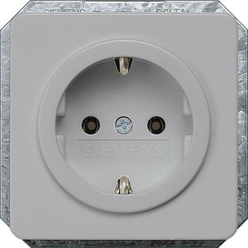 Siemens Indus.Sector Schuko-Steckdose Delta Profil 5UB1467