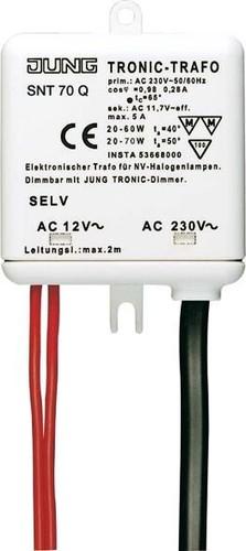 Jung Tronic-Trafo 20-60/70W für NV-Halogenlampe SNT 70 Q