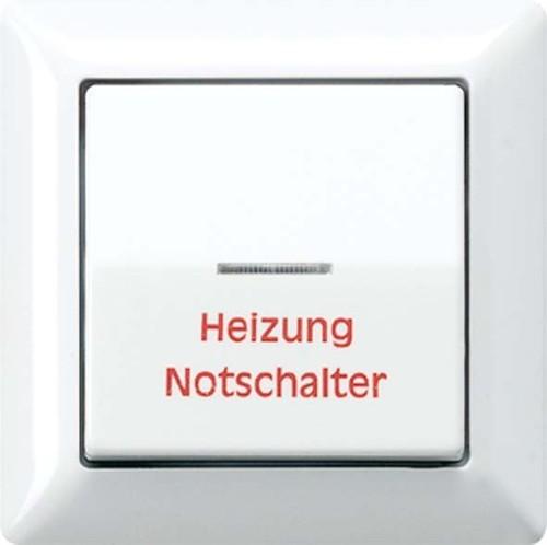 Jung Abdeckung Heiz/Nots.ws für Schalter AS 590 H