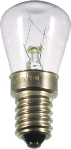 Scharnberger+Hasenbein Birnenlampe 26x57mm 12V/15W E14 klar 40098