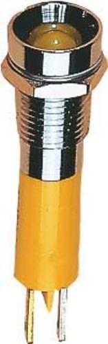 Scharnberger+Hasenbein LED-Signalleuchte 5mm 24-28VDC rot 38098