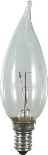 Scharnberger+Hasenbein Windstoßkerze 35x100mm 230V 15W E14 klar 40845