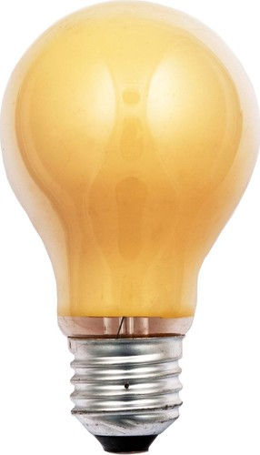Scharnberger+Hasenbein Allgebrauchslampe B60x105 E27 230V 15W gelb 40242