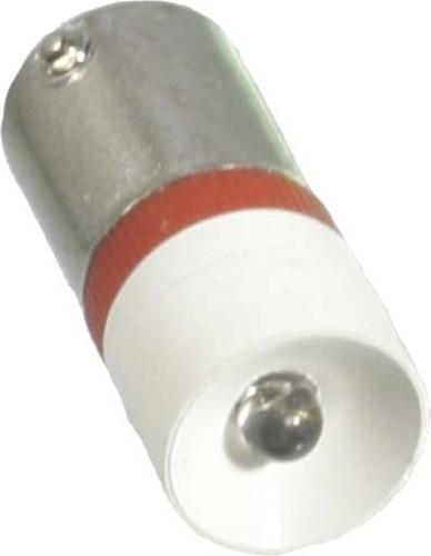 Scharnberger+Hasenbein Single-LED 10x25mm Ba9s 20-28VAC/DC rot 35178