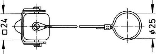 Harting Abdeckkappe HAN 3A-AK-QB 09 20 003 5422