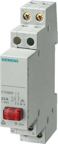 Siemens Indus.Sector Taster 1S 20A rot 5TE4822