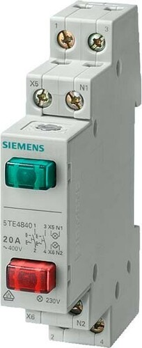 Siemens Indus.Sector Taster 1S+1S 20A 5TE4840